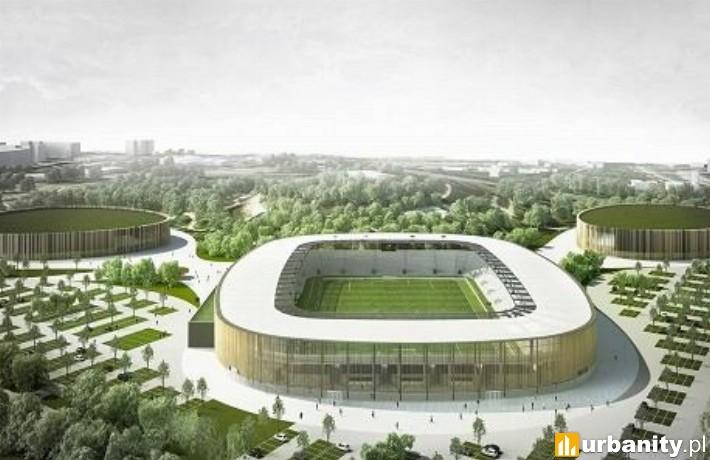 Stadion w ramach Zagłębiowskiego Parku Sportowego