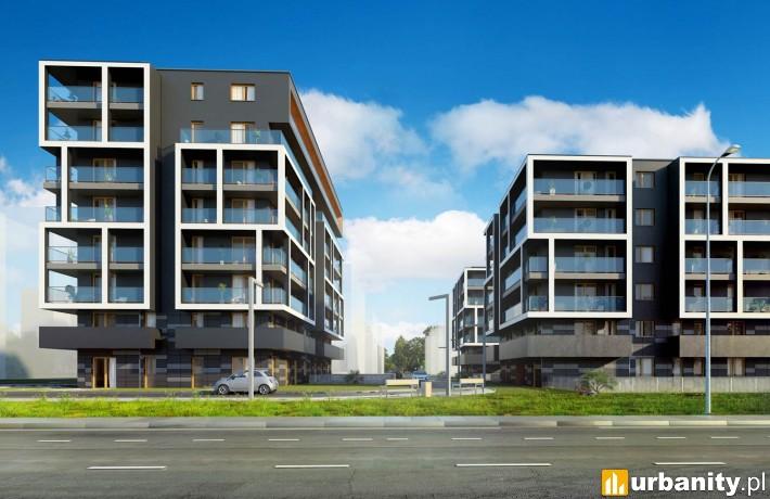 Projekt Apartamentów Przybyszewskiego 64 w Krakowie