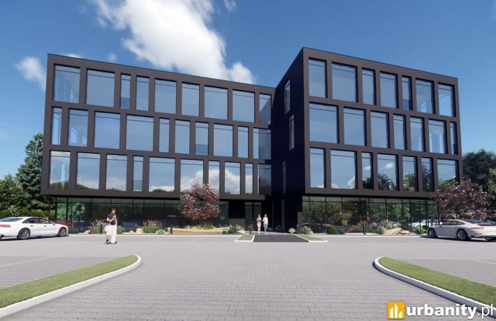 Biurowiec Qubb Offices Bielsko-Biała - wizualizacja