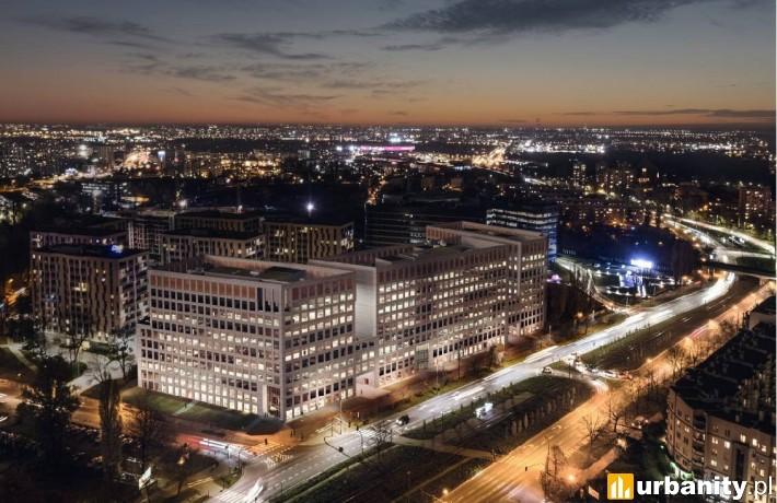 Biurowiec Brain Park w Krakowie - wizualizacja