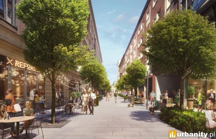 Nowa Chmielna w Warszawie - projekt
