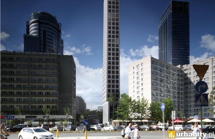 Tak wyglądać miał wieżowiec PIN Tower przy Mariańskiej 105