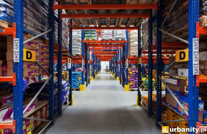 Centrum logistyczne Krakvet