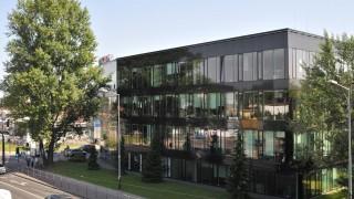 Przestrzeń coworkingowa w biurowcu Diamante Plaza w Krakowie