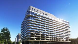Projekt hotelu Baltic Wave w Kołobrzegu