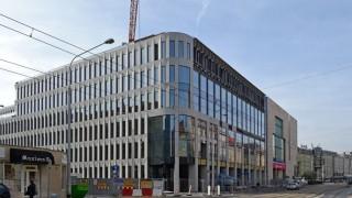 Biurowiec Retro Office House. Postęp prac w listopadzie 2017 roku (fot. alsen strasse 67)