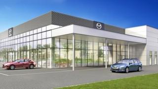 Tak wyglądał będzie nowy salon Mazdy w Długołęce