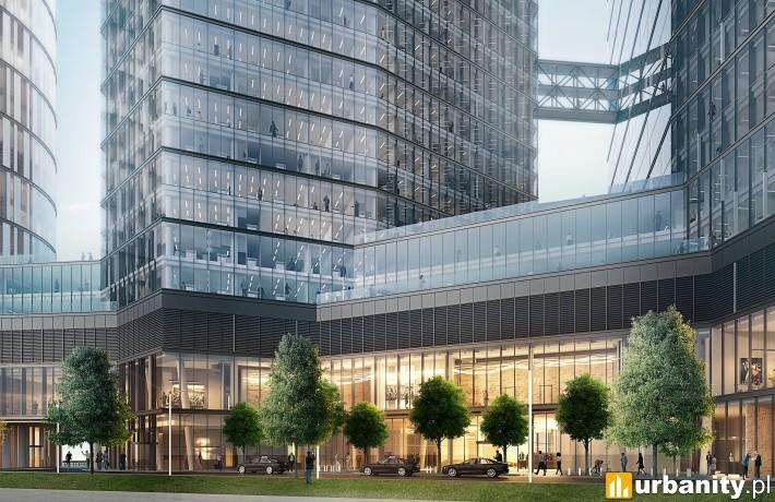Kompleks The Warsaw Hub w Warszawie - projekt