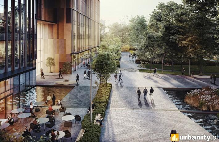 Projekt kompleksu Forest w Warszawie