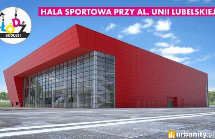 Wizualizacja hali sportowej przy alei Unii Lubelskiej 2