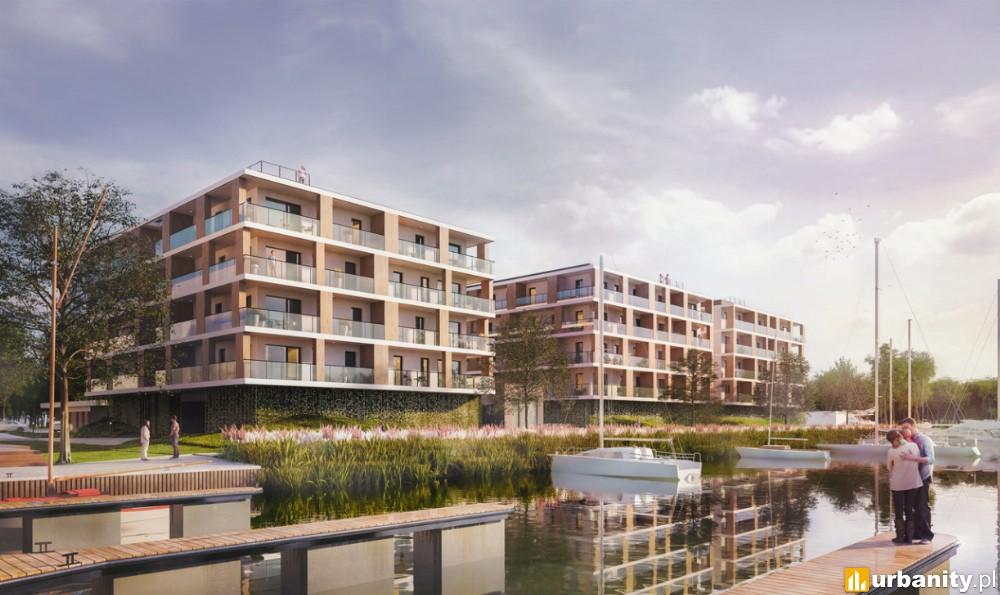 Apartamentowce Victoria Apartments powstaną nad Jeziorem Dąbie