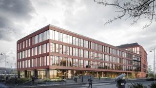 Biurowiec Punkt w Gdańsku - wizualizacja