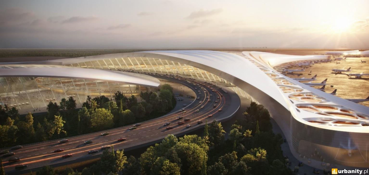 Architekci lotnisk w Seulu czy Abu Zabi z koncepcją na Centralny Port Komunikacyjny