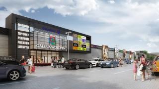 Projekt centrum handlowego Galeria Wołomin