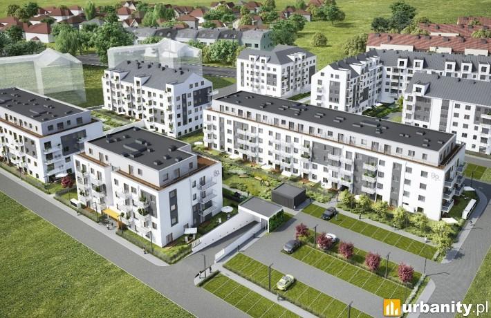 Inwestycja Buforowa 89 we Wrocławiu - wizualizacja