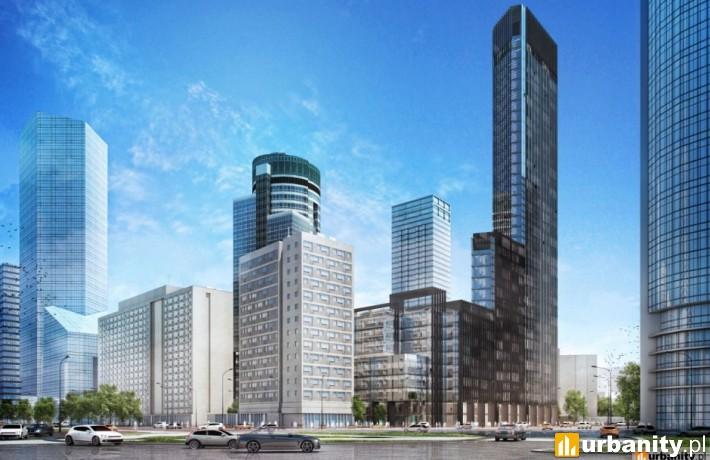 Wizualizacja nowego wieżowca City Tower w Warszawie