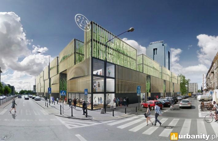 Wizualizacja inwestycji Implant w Warszawie