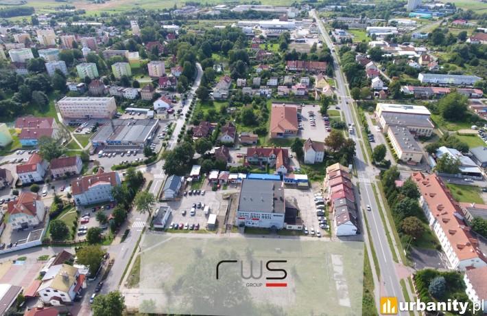 Lokalizacja nowego parku handlowego w miejscowości Dobre Miasto