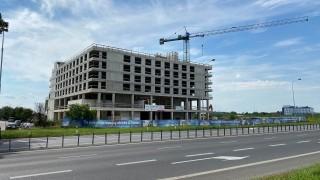 Q Hotel Plus Wrocław Bielany - zakończenie prac konstrukcyjnych