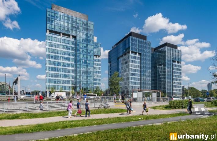 Kompleks West Station w Warszawie