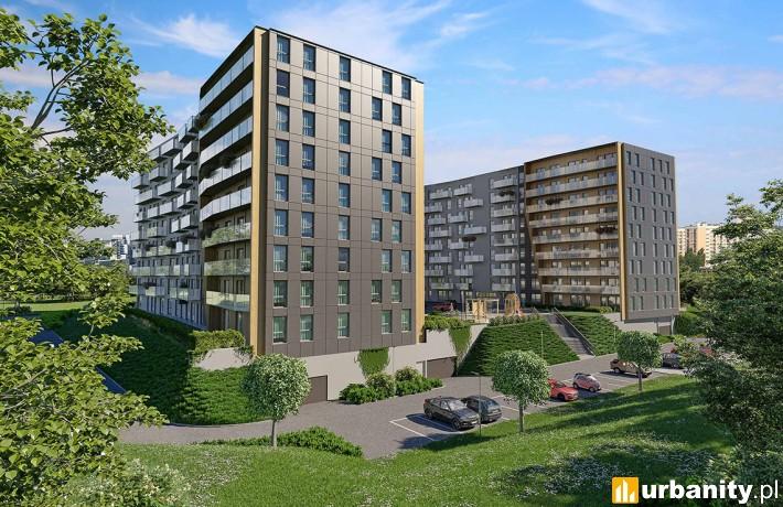 Wizualizacja projektu Apartamenty Trzy Stawy w Katowicach