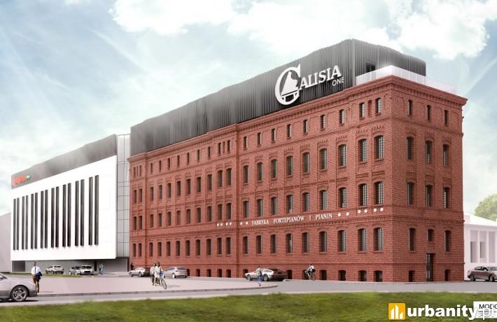 Projekt rewitalizacji byłej fabryki fortepianów i pianin Calisia