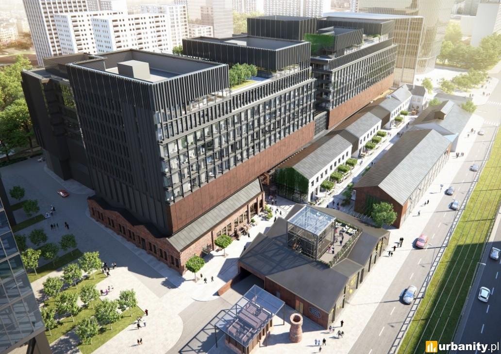 Fabryka Norblina - finalna nazwa projektu firmy Capital Park w Warszawie