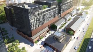 Wizualizacja Fabryki Norblina w Warszawie