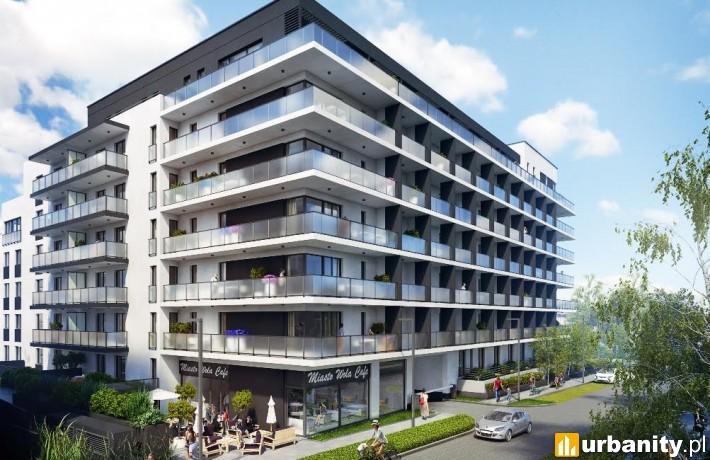 Budynek mieszkalny w ramach projektu Miasto Wola