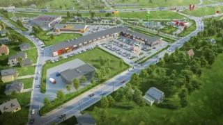 Gotowy I etap parku handlowego Mila w Płońsku
