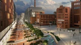 Projekt podziemnej ulicy w Nowym Centrum Łodzi