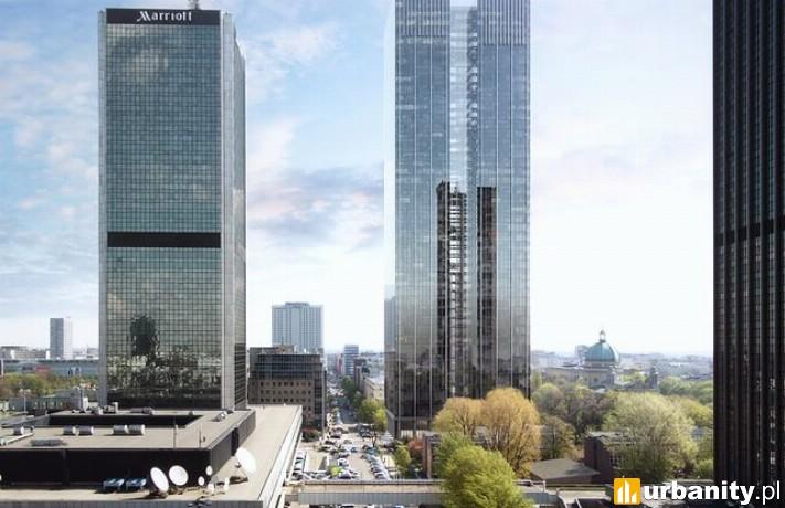 Koncepcja budowy wieżowca Roma Tower w Warszawie