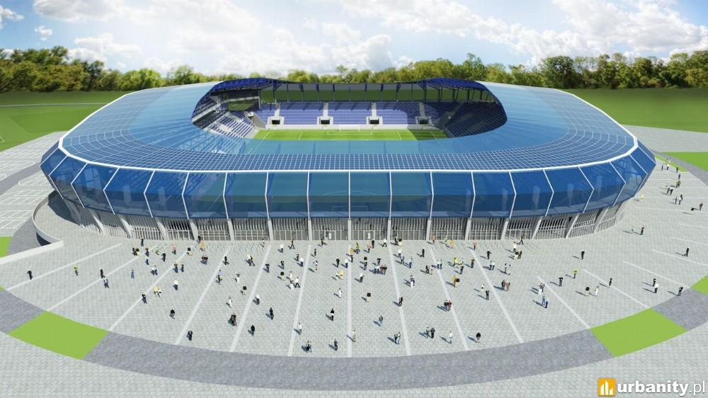 W Płocku powstanie nowoczesny stadion piłkarski