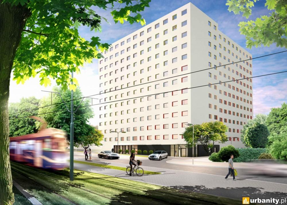 Erbud S.A. wybuduje Akademik Foxtrot w Warszawie