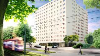 Student Depot we Wrocławiu - wizualizacja