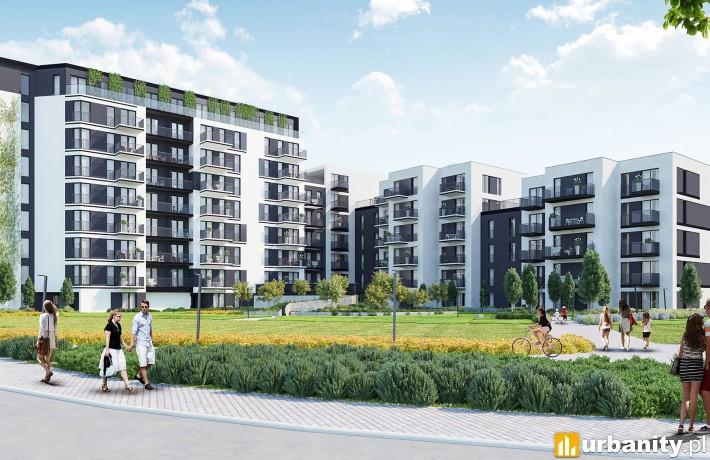 Apartamenty Novum III - wizualizacja