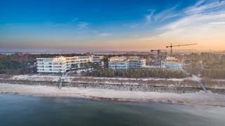 Budowa kompleksu Dune Resort w Mielnie