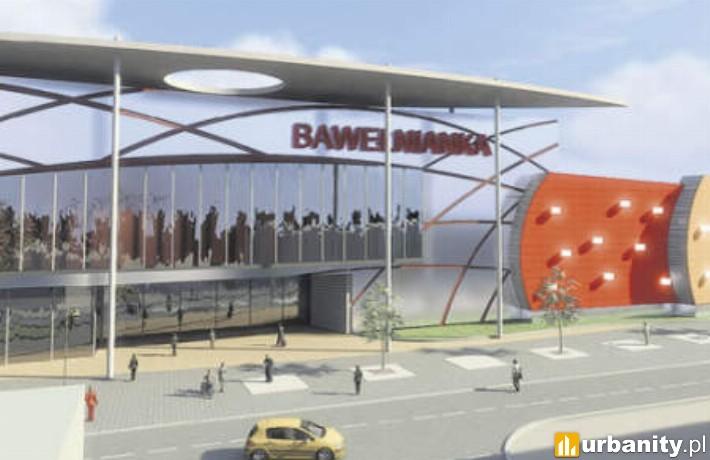 Wizualizacja Galerii Bawełnianka w Bełchatowie