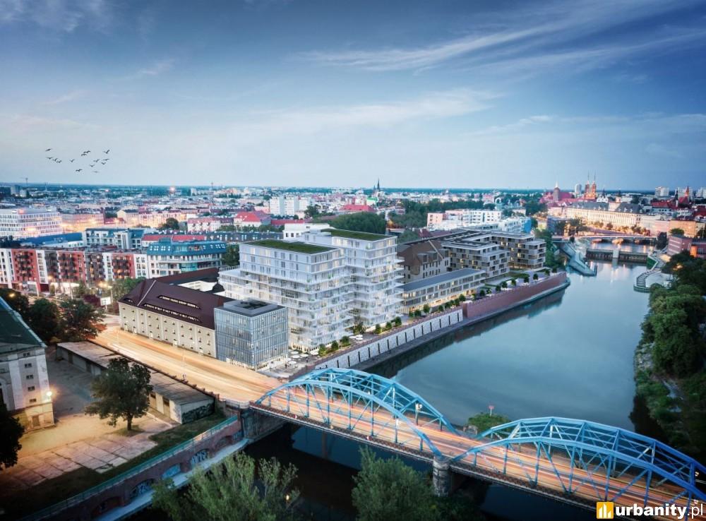 W połowie 2021 roku gotowe dwie wieże na Kępie Mieszczańskiej