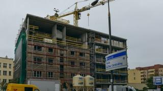 Moderna Powiśle - budowa październik 2020 r.