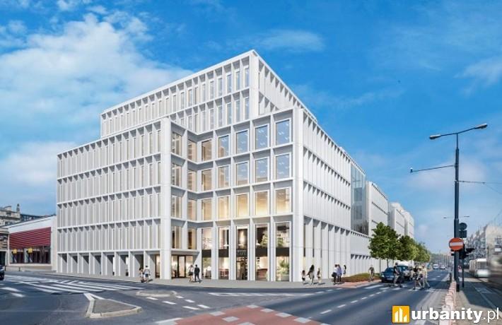 Biurowiec Nowy Targ we Wrocławiu - wizualizacja