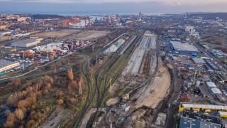 Port Gdynia - budowa (fot. Budimex)