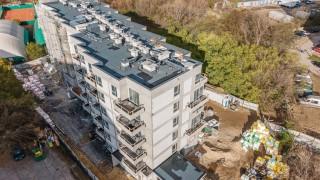 Alinea w Warszawie - budowa listopad 2020 r. (fot. Maciej Lulko)