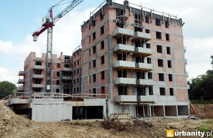 Postęp prac na budowie I etapu osiedla Banacha