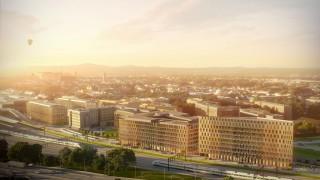 Inwestycja High5ive w Krakowie - wizualizacja