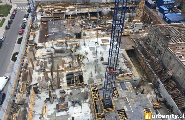 Tak obecnie wygląda postęp prac na budowie Ilumino II