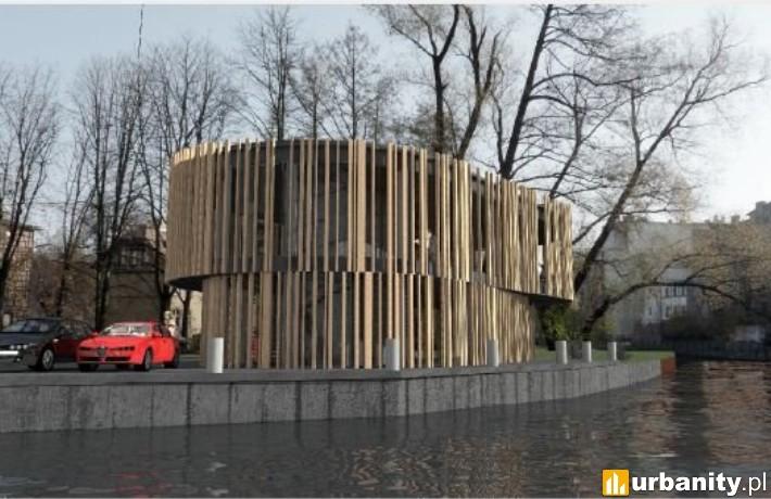 Projekt budynku przy Mennica 9