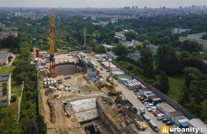 Budowa tunelu średnicowego w Łodzi fot. Stefan Brajter