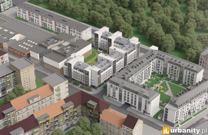 Kompleks Zajezdnia Poznań - wizualizacja