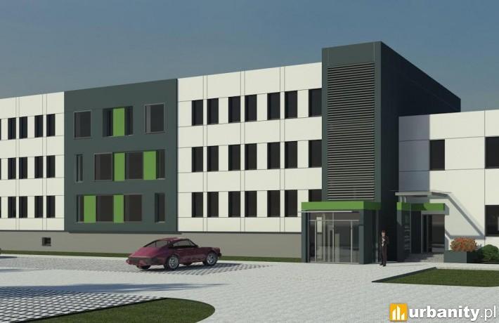 Business Park Grunwald - wizualizacja